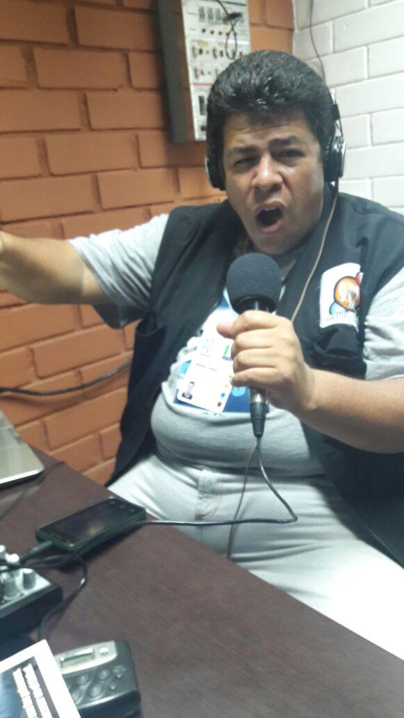 JOSE LUIS MOTA QUINTERO mas conocido como el gordito pepe luis,esperamos su pronto regreso como narrador del fútbol profesional y aficionado.